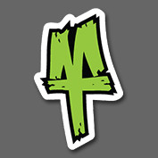MT Logo Sticker